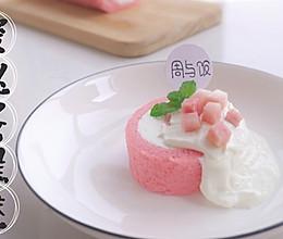 蜜桃蛋糕卷的做法
