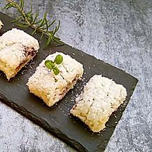 #一道菜表白豆果美食#糯米豆沙椰蓉糕
