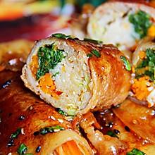 巨无霸肉卷菜│吃不胖肉卷