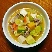 韩式大酱汤 | 豆腐