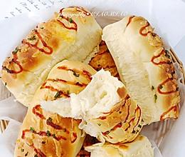 一次发酵汤种香葱芝士面包的做法