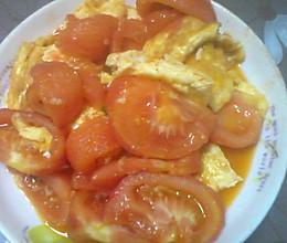 赛蟹黄炒西红柿的做法