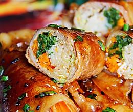 巨无霸肉卷菜│吃不胖肉卷的做法