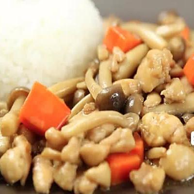 【微体】懒人菜→_→滑鸡蘑菇饭