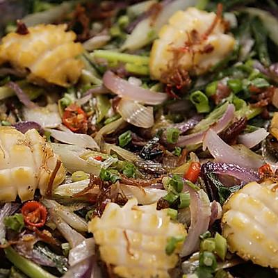 三葱焗鲍鱼|美食台