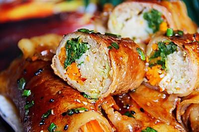巨無霸肉卷菜?吃不胖肉卷