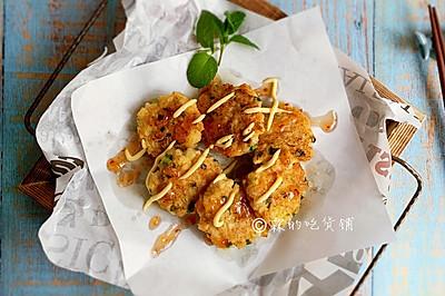 马蹄鲜虾饼