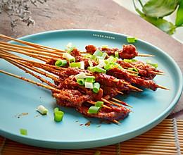 #硬核菜谱制作人#宜宾把把烧:烤牛肉串的做法