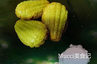Mucci:我想尝试的24味——No.4:春の抹茶玛德琳蛋糕