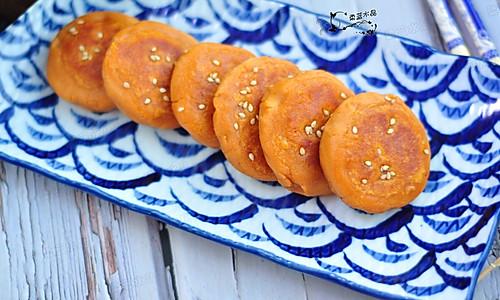 红薯蛋黄饼的做法