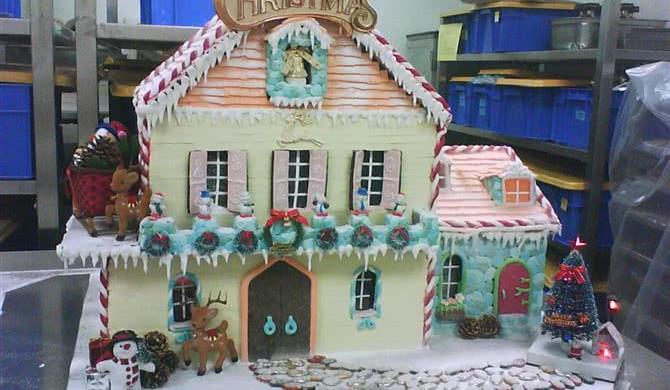圣诞节的礼物-----圣诞姜饼屋