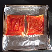 吐司披萨的做法图解2