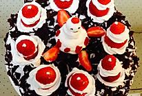 黑森林圣诞草莓蛋糕的做法