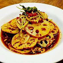 无独有藕-凉拌麻辣豆豉红油藕片