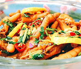 #爽口凉菜,开胃一夏!# 网红百香果柠檬鸡爪【图文视频】的做法