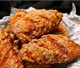 """完胜KFC的""""椒盐蒜香炸鸡翅""""的做法"""