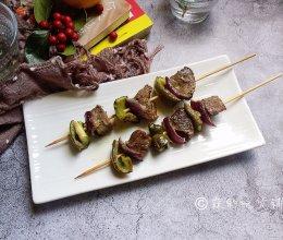 烤牛肉串#做道好菜,自我宠爱!#的做法