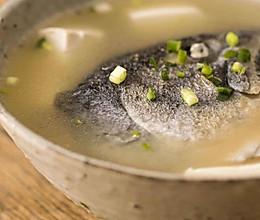 三文鱼头汤|美食台的做法