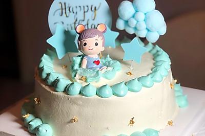 酸奶油生日蛋糕