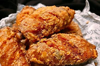 """完胜KFC的""""椒盐蒜香炸鸡翅"""""""