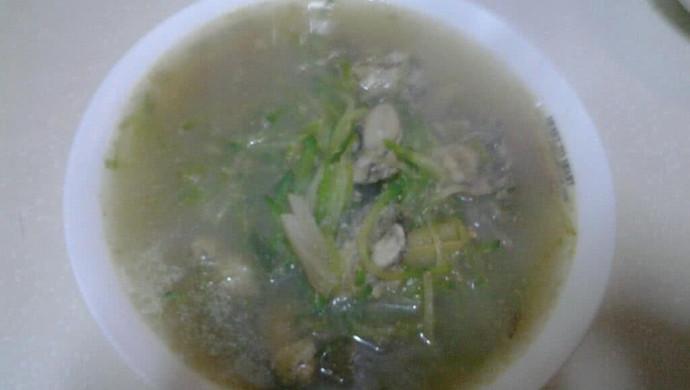 萝卜丝海蛎子汤