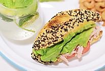 低碳水|高蛋白|金枪鱼三明治的做法