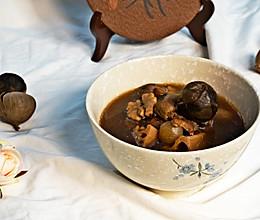 #小熊黑蒜机食谱#黑蒜斋汤的做法