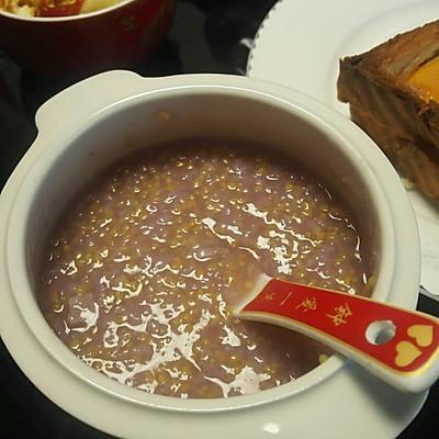 玉米紫薯粥
