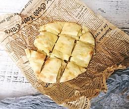 #做道懒人菜,轻松享假期#网红榴莲芝士饼的做法