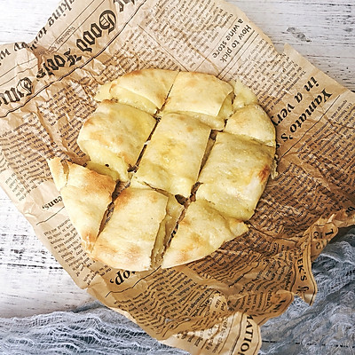 网红榴莲芝士饼