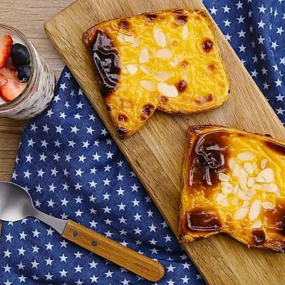 烤乳酪吐司|太阳猫早餐