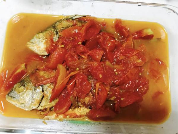 黄丝腊鱼焖番茄