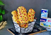 南瓜火腿辫子面包的做法