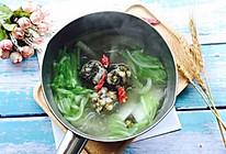 #秋天怎么吃#紫菜肉丸子大白菜粉丝汤的做法