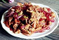 洋葱炒肥牛卷#今天吃什么#的做法