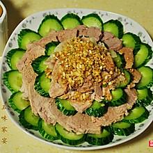 蒜泥黄瓜白肉
