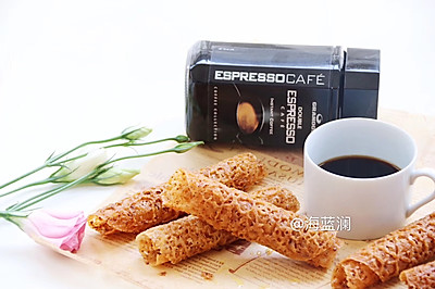 蜂巢咖啡卷