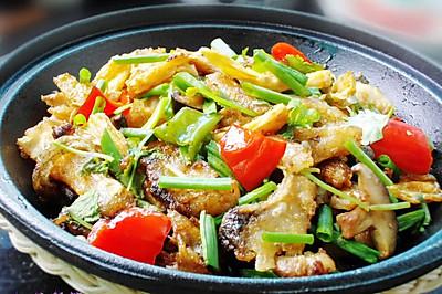 暖和煲仔菜--豉香腐竹鱼煲