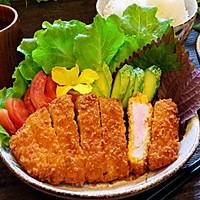 日式炸猪排配田园沙拉的做法图解13