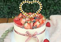 超简单水果6寸戚风生日蛋糕的做法