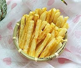 #夏日撩人滋味#无一滴油的炸薯条的做法