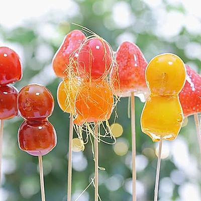 止咳、预防积食——水果糖葫芦 宝宝辅食食谱