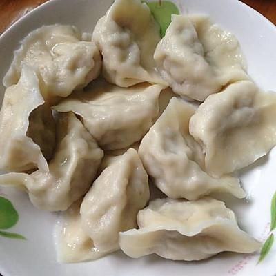 东北菜之猪肉酸菜馅饺子
