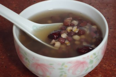 薏米红豆粥