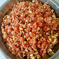 玉米胡萝卜香菇猪肉馅饺子的做法图解7