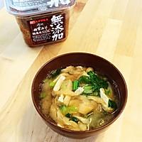 """日本料理""""味增汤""""(味噌汁)的做法图解11"""
