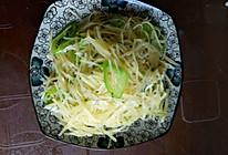 尖椒土豆丝的做法