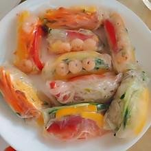 减肥清新越南春卷