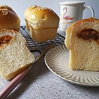 咸蛋黄肉松小面包的做法图解19