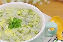 紫菜虾皮蛋花粥 宝宝辅食食谱的做法